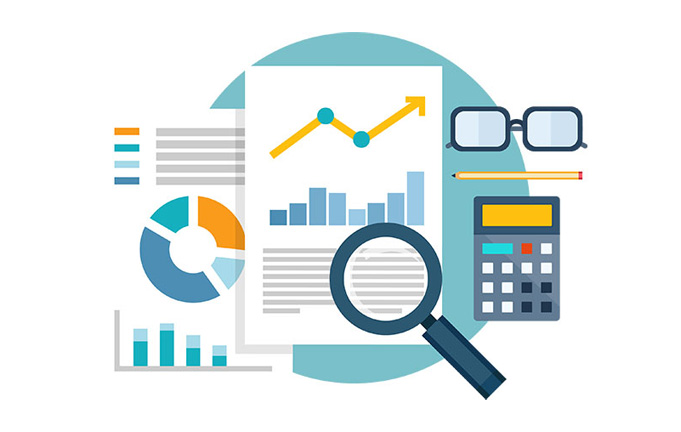 Analytics reporting illustration